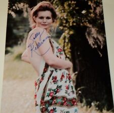 SALLY KELLERMAN /  LOVELY  8 X 10  COLOR  AUTOGRAPHED  PHOTO