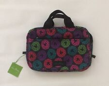BNWT Disney Vera Bradley Lighten Up Mickey Mouse Travel Organizer Zip Up Bag