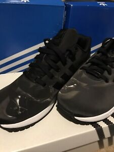 ADIDAS STAR WARS DARTH VADER DARK SIDE BLACK TORSION ZX FLUX TRAINERS CUSTOMS