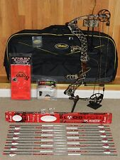 Completely LOADED, Mathews Heli-m Solocam Lost Camo Bow Package - Helium - Helim