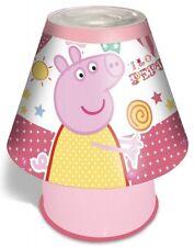 Peppa Pig 'Fun Fair' Kool Lamp Kids Bedroom Bedside Deco Brand New Gift
