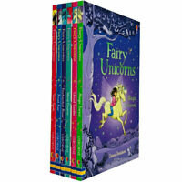 Usborne Fairy Unicorns 6 Book Set Collection By Zanna Davidson, Star Spell,Frost