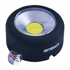 Round COB LED Worklight Boating Camping Home Garage Mechanics Auto Household