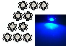 10x Hi-Power LED 3W Blau STAR 460-465nm  80lm