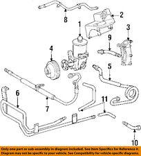 MERCEDES OEM 84-93 190E-Power Steering Return Hose 2019970382