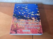 Management and Organisational Behaviour by Laurie J. Mullins (Paperback, 1999)