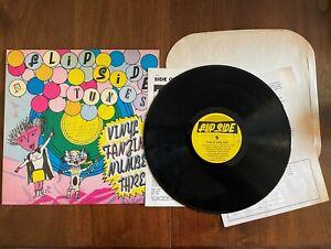 "FLIPSIDE VINYL FANZINE NUMBER THREE 1987 FSR3 12"" VINYL EX/EX US HARDCORE PUNK"