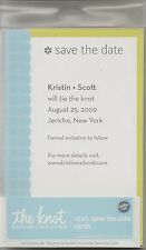 Wilton The Knot 10 Count Save The Date Invitations Kit Stock #1008-211 Printable