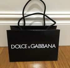 ^Dolce & Gabbana paper shopping bag ~ Stylish