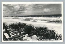 Atlantic Ocean from Marine Studios RPPC Marineland Florida—Palm Coast—Photo 40s
