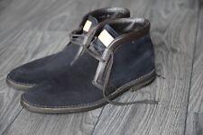 Louis Vuitton Mans shoes, dark blue/navy suede, 1250$, 100% authentic, size 7