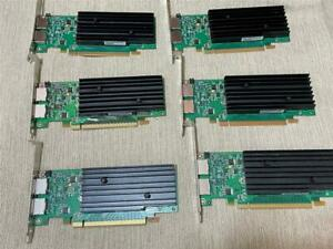 LOT OF (6)  Nvidia Quadro NVS 295 PCIe 256MB DDR3 DP Graphics Video Card
