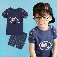 """Vaenait Baby Kids Girls Boys Clothes Short Outfit set /""""Monchenu Set/"""" 2-5T"""