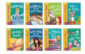 KS1 Age 4-7 Years Learn To Read Phonics 8 Book Wipe Clean Activity Book Set