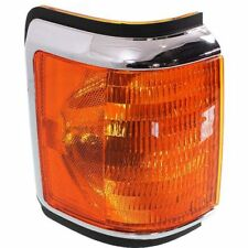 For F Super Duty 90-91, Passenger Side Corner Light, Amber Lens, Plastic Lens