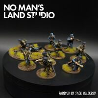Pro Painted 28mm Bolt Action lufftwaffe field division squad ×10 Warlord Games