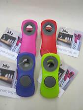 New Kilo Magnetic Bag Clips Assorted Colours BA130 Pk4