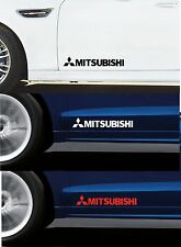 For MITSUBISHI - 2 x Door - CAR DECAL STICKER ADHESIVE - LANCER FTO  300mm long