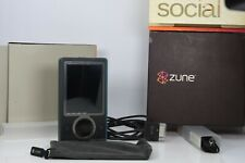 In Box Microsoft Zune 30gb Digital Media Player Brown Black Condition Works nice