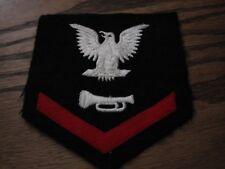 Original WW2 US Navy BUGLER 3rd Class Petty Officer Sleeve Rate