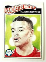 🔥 2020-21 Topps UCL Living Set Mason Greenwood Rookie Manchester United Phenom