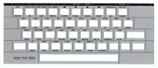 Timex Ts 2068 Keyboard Cover/Überlagerung. Silver Keyboard Overlay. New