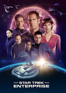 Star Trek Enterprise - Poster (A0-A4) Film Movie Picture Wall Decor Actor