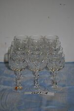 Nachtmann Sabine  Weinglas Süßwein Weißwein Bleikristall Diamant geschliffen