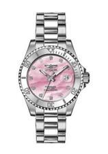 Invicta Women's 30940 Angel Quartz 3 Hand Pink Dial Watch