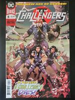 NEW CHALLENGERS #4 (2018 DC Universe Comics) ~ VF/NM Book