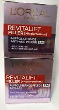 L'Oréal Paris Revitalift Filler Tagescreme mit Hyaluronsäure 2 X 50ml