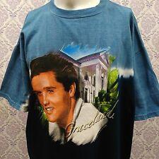 Vintage Elvis Presley Graceland Tie Dye T Shirt Sz XL Official EPE By KUN