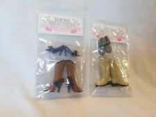Pullip shoes selection Groove dolls Japan Blythe dal isul blue heels brown boots