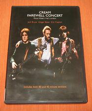 """Cream DVD """" FAREWELL CONCERT """" BMG"""