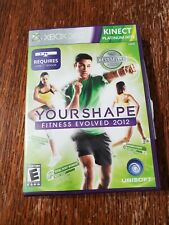 Your Shape Fitness Evolved 2012 Xbox 360 Kinect Game Workout Exercise Women/Men