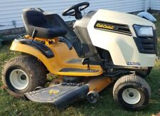 CubCadet Ltx 1040 Riding mower & Craftsman utility trailer, sweeper and spreader