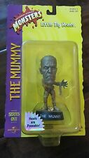 1999 UNIVERSAL STUDIOS MONSTERS LITTLE BIG HEADS SERIES 2 THE MUMMY NEW UNOPENED