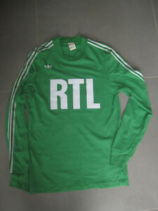 Maillot As Saint etienne Adidas Vintage 1981 numero 10 de Platini taille M
