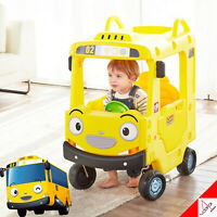 Little Bus Tayo RANI ROOF CAR Yellow Non-Noise Ride Indoor Car Kids Toy 2019 New