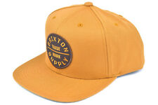 BRIXTON OATH III SNAPBACK CAP ADJUSTABLE COPPER AUTHENTIC - IMPORTED FROM USA