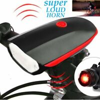 Headlight&Taillight Set Super Bright USB Led Bike Bicycle Light Rechargeable