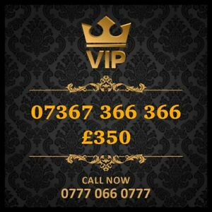 07367366366 Vip Mobile Number Gold Special Cherished UK Easy Mobile Phone Number