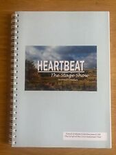More details for autographed hand signed heartbeat the stage show script by david lonsdale