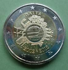 Malta 2 Euro Gedenkmünze 2012 Euro-Bargeld TYE Euromünze commemorative coin