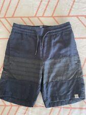 Boys Volcom Skate Casual Shorts Size XS 8 Black