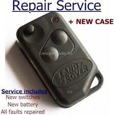 Servizio di riparazione restauro per Range Rover P38 Remoto Portachiavi FLIP + Custodia Nuovo