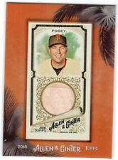 2018 Topps Allen & Ginter Buster Posey Mini Bat Relic Card