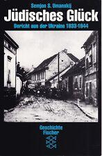 Juif de la chance, rapport de l'Ukraine 1933 - 1944 Juifs Differences Guerre II. WK