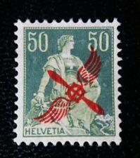 1919-Svizzera- Posta Aerea- 50 c. sovrastampato-nuovo MNH**