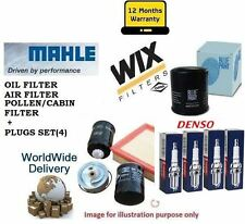 FOR NISSAN  X TRAIL 2.0 2001-2007 OIL AIR POLLEN / CABIN FILTER SET & PLUGS KIT